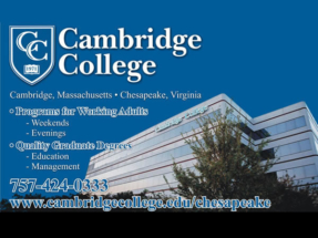 CambridgeCollege_Airport_Sign