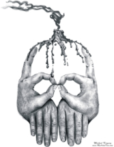 Hand-Skull_by_Michael_Kingery